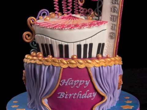Theater Birthday Cake - YouTube