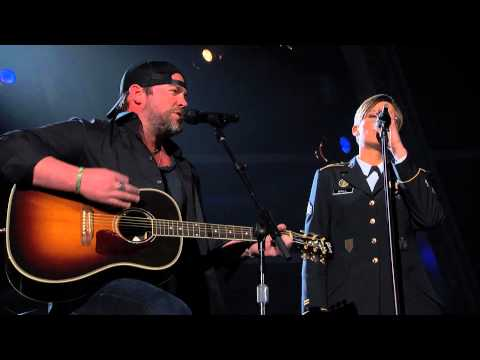 ACM Presents An AllStar Salute to the Troops Preview  Lee Brice  Sgt Christiana Ball