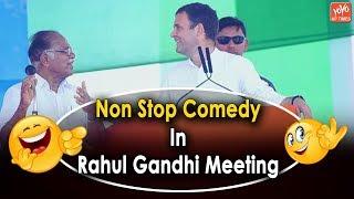 Rahul Gandhi Funny Speech   Rahul Gandhi Election Campaign   PJ Kurian   Latest Comedy Video  YOYOAP