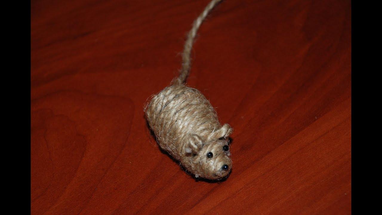 Сделать своими руками мышку для кошки