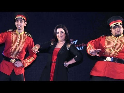 Farah Khan Dances To 'ipl 2013'! video