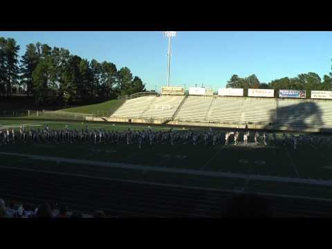 Rusk High School Marching Band - 2013 Marching Contest