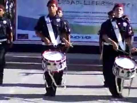 Banda de guerra lobos de tamaulipas encuentro nacional liebres 2010