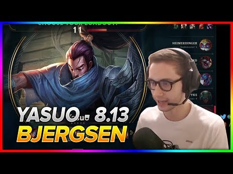 713. Bjergsen - Yasuo vs Fizz - Mid | S8 Patch 8.13 - NA Challenger - July 9th, 2018