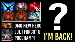 FORGOTTEN HERO IS BACK! 97% of Players Won't Guess This Imba Mid Epic Pro Gameplay WTF Dota 2