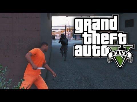 GTA 5 THUG LIFE #12 - PRISON BREAK! (GTA V Online)