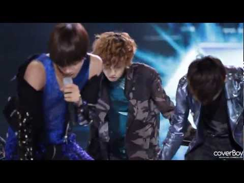 Fancam 120510 EXO-K KBS Yeosu Open Concert - MAMA (Chanyeol focus) Music Videos