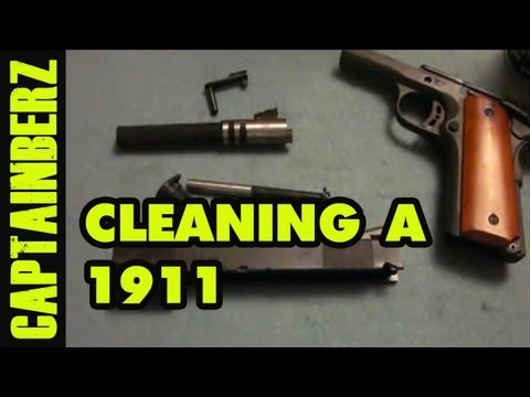 Cleaning a 1911
