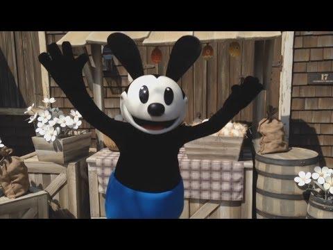 Oswald The Lucky Rabbit Makes Disney Parks Debut At Tokyo Disneysea video