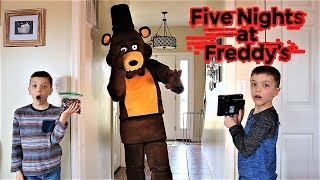 [FNAF] Hello Neighbor Saw Freddy Moving in Our House (Hello Neighbor In Real Life 2019)