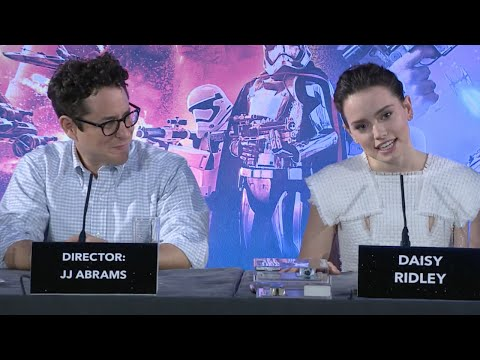 Star Wars The Force Awakens | Full European Press Conference (2015) J.J. Abrams
