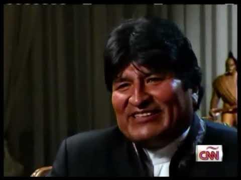 Reportaje completo de CNN a Evo Morales