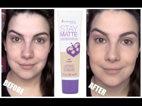 Rimmel Stay Matte Foundation Review