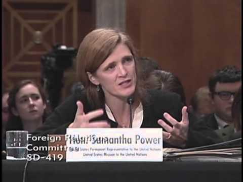 Senator Gardner Questions Ambassador Samantha Power
