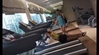 Nữ Sinh 2k Bị Ép CHẠY SẤP MẶT Trên Máy Chạy Bộ - Cẩn Thận Khi Tập Luyện Nhé - HLV Ryan Long Fitness