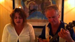 """At Last"" Glen Rose on Baritone Uke with Barb Murphy"