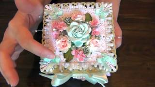 Shabby Chic Origami Box - Woc