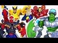 Marvel Avengers Electronic Hulk Spider Man Iron Man Transform Defeat Dinosaur DuDuPopTOY mp3
