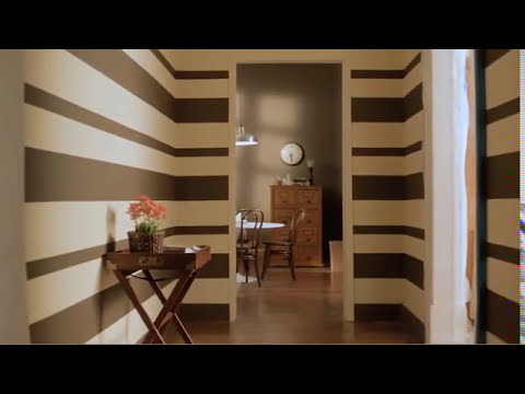 Pin pintar paredes rayas horizontales y verticales - Paredes a rayas verticales ...