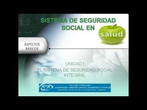 Unidad I Sistema de Seguridad Social Integral