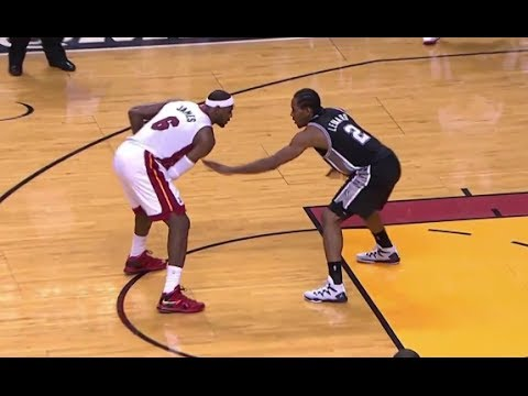 Kawhi Leonard's Tight Defense on LeBron James - Game 3 ...