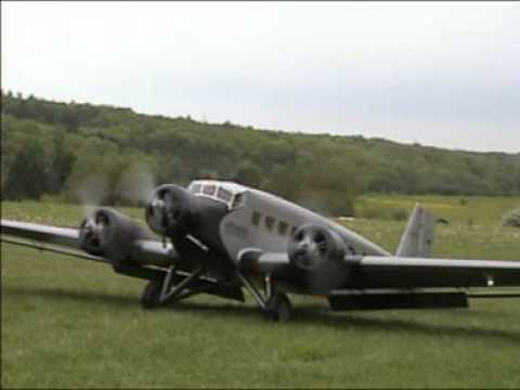 Worlds Largest Ju 52 RC model plane