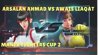 tekken 7Arsalan Ahmad(Kazumi) vs Awais Liaqat(Josie) maniax fighters cup S2