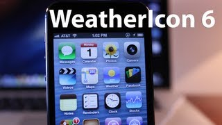 WeatherIcon 6 - Live Weather Updates to Weather App & Status Bar on iPhone