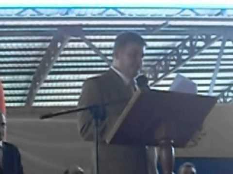 Discurso del Padrino de la Promoción de bachilleres año 2012, Dr. Roberto Zamora H.