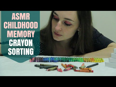 {♡_♡} Hypnotic Sounds & Visuals of Crayons (ASMR Soft Spoken)