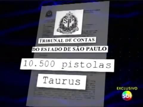 Pistolas .40 uso Polícia Militar (Taurus) com defeitos