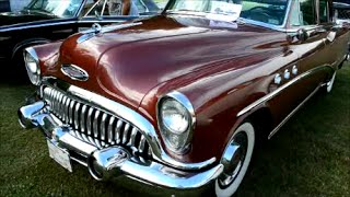 MARVELOUS '53 BUICK SPECIAL WITH STRAIGHT EIGHT START UP