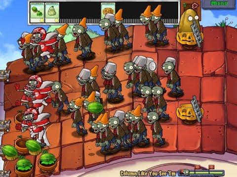 Hoa quả nổi giận   Trận chiến khốc liệt trên mái nhà, quá nhiều Zombies