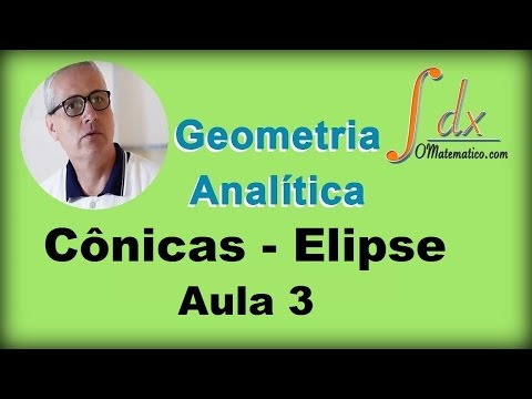 Grings - Geometria Analítica - Cônicas -  Elipse - Aula 3