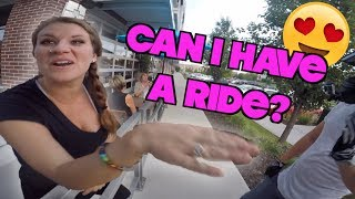 """YOU'LL HAVE TO TAKE ME FOR A RIDE"" 