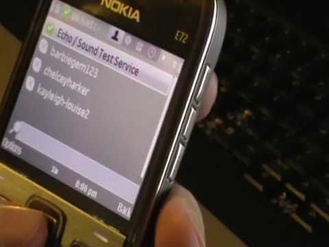 Nokia e72 viber - YouTube