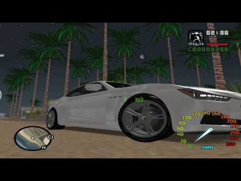 MASERATI CAR MOD review in gta sanandreas.