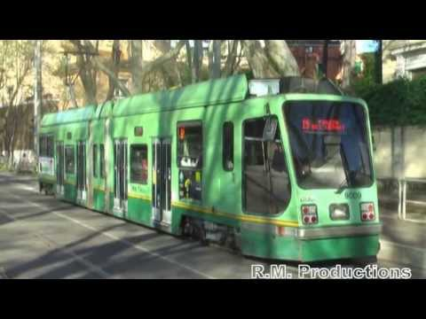 (HD) Bioparco to Piazza Risorgimento - Rete Tranviaria Socimi T8000 (Line 19) 07/04/13