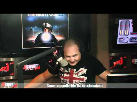 Cauet appelle Mc Do en chantant - C'Cauet sur NRJ