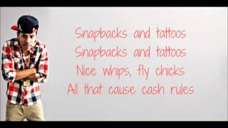 Driicky Graham -Snapbacks & Tattos (Lyrics) ♪