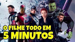 RESUMÃO DE VINGADORES ULTIMATO EM 5 MINUTOS (COM SPOILER)
