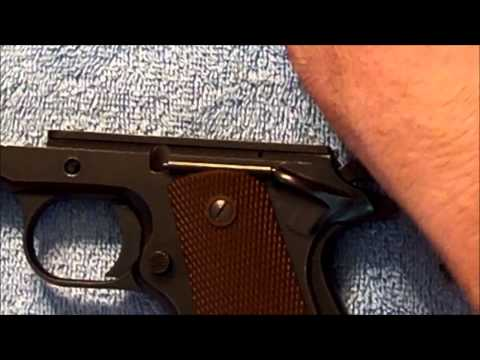 1911: Remove and Replace a 1911 Ejector