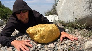 Lucky Discoveries! Giant Nugget of Gold on the River…