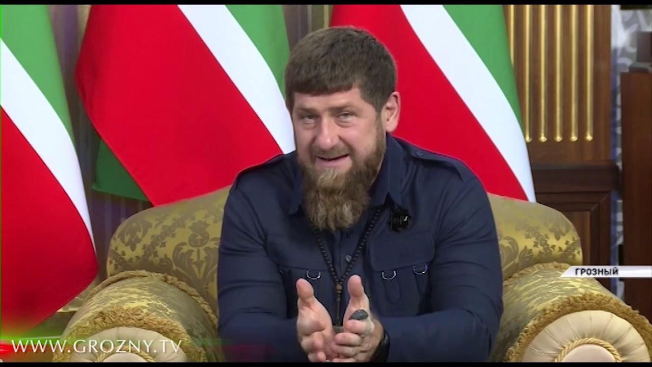 Рамзан Кадыров принял делегацию Фонда Халифа из ОАЭ