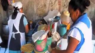 Comer Quesadillas en Oaxaca