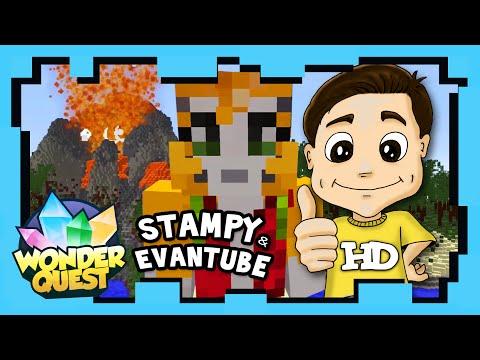 Wonder Quest - Episode 9 - STAMPY?S MINECRAFT SHOW | Stampylonghead, EvantubeHD