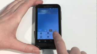 Getting started with your Motorola Defy XT