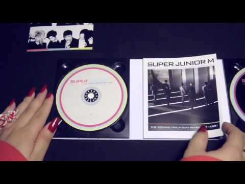 Super Junior M 2nd Mini Album repackaged - Perfection album unboxing