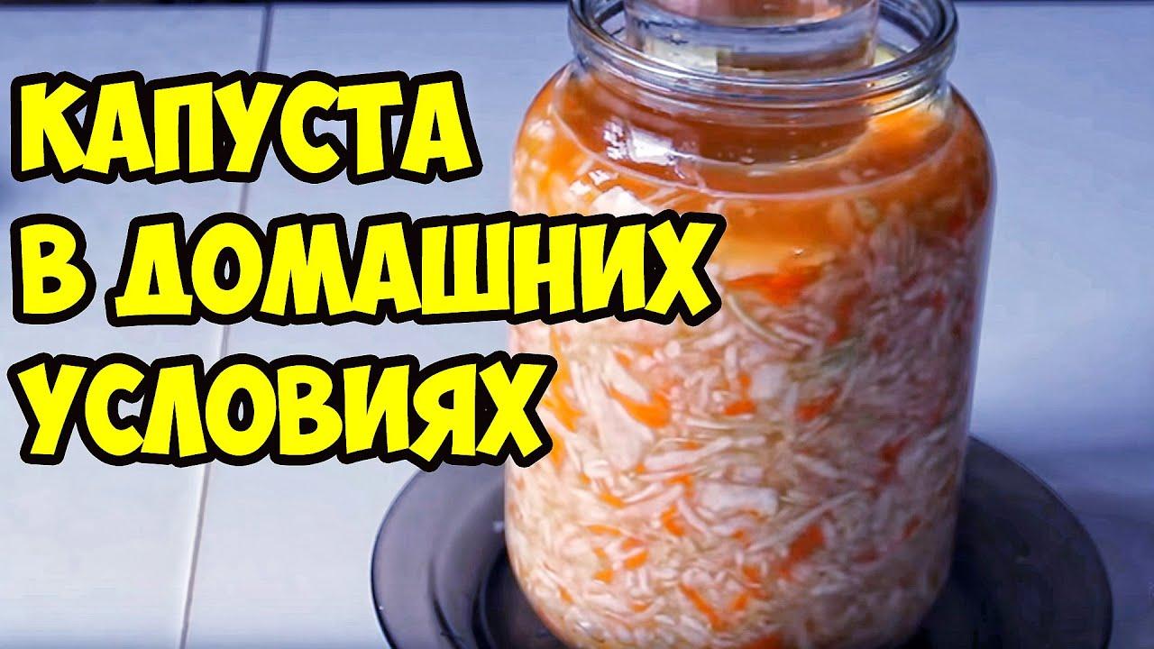 В чем солить капусту в домашних условиях рецепт 786