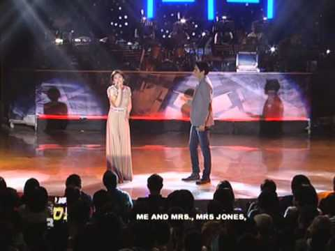 Sarah Geronimo & Jason Farol 'Me & Mrs. Jones' duet